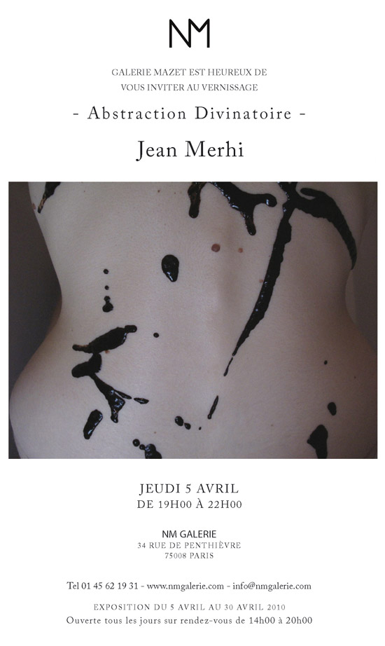 Expo photo Jean Merhi Galerie NM