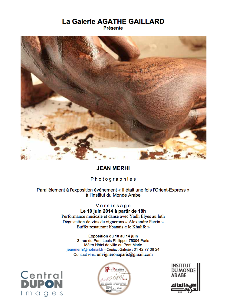 Invitation vernissage Agathe Gaillard